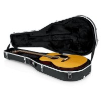 Gator GC-DREAD12 Deluxe Molded Case for 6 or 12-String Dreadnaught