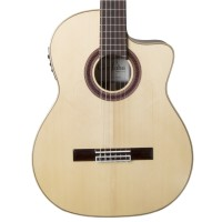 Cordoba GK Studio Negra Nylon String Acoustic Electric Guitar in Natural Finish