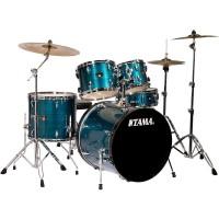 Tama IP52KCHLB Imperialstar 5-Piece Complete Drum Kit - Hairline Blue