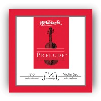 D Addario J810 Prelude Violin 3/4 Scale Medium Tension
