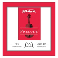 D'Addario J810 Prelude Violin 4/4 Scale Medium Tension