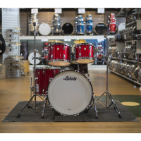 Ludwig Classic Maple Drum Kit in Red Sparkle