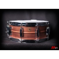 Ludwig Copperphonic 5x14 Snare Drum w/ Raw Patina Finish and Imperial Lugs