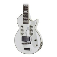Traveler Guitar LTD EC-1 WHT Electric Travel Guitar with Gig Bag, White