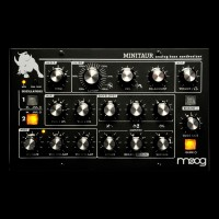 Moog Minitaur Analog Bass Monosynth Module Black