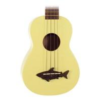 Kala MK-SS/YLW Makala Shark Soprano Ukulele (Yellow)