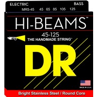 DR MR5-45 Hi-Beam Stainless Steel Medium 5-String Bass Strings