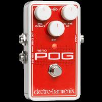 Electro Harmonix Nano Pog Polyphonic Octave Generator Pedal