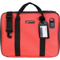Protec Music Portfolio Bag with Shoulder Strap in RED