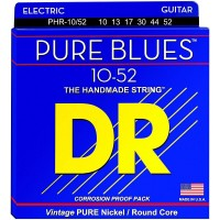 DR Strings Pure Blues Nickel Big N' Heavy Electric Guitar Strings (10-52)