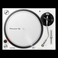 Pioneer DJ PLX-500-W Direct Drive DJ Turntable in White