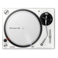 Pioneer DJ PLX-500-W Direct Drive DJ Turntable, White
