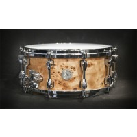 Tama Starphonic Maple 6x14 Snare Drum In Mappa Burl Finish