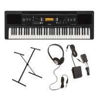 Yamaha PSR-EW300 Portable Keyboard with Survival Kit