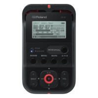 Roland R-07 Portable Audio Recorder (Black)