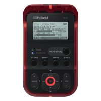 Roland R-07 Portable Audio Recorder (Red)