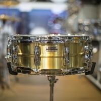 Yamaha Recording Custom 14x5.5 Brass Snare Drum