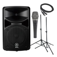 Yamaha StagePas 400I 400W Portable PA System Bundle