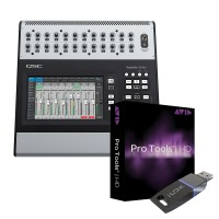 QSC Touchmix 30 Pro 32-Channel Professional Compact Digital Mixer Bundle