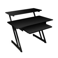 On Stage WS7500 Series Wood Workstation - Black