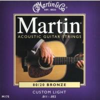 Martin M175 Custom Light 11-52 Acoustic Guitar Strings