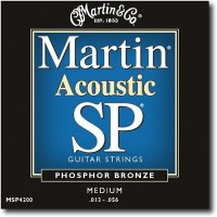 Martin SP MSP4200 Phosphor Bronze 13-56 Medium Acoustic Guitar Strings