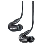 Shure SE215K Sound Isolating Earphones In Ear Buds