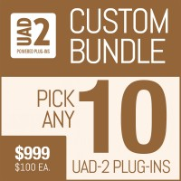 Universal Audio Plug-In Package with Your Selection of 10 UAD Plug-Ins