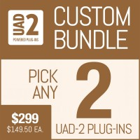 Universal Audio Plug-In Package with Your Selection of 2 UAD Plug-Ins