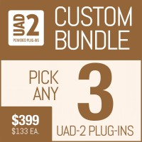 Universal Audio Plug-In Package with Your Selection of 3 UAD Plug-Ins