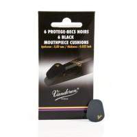 Vandoren VMCX6 6 Thick Black Mouthpiece Cushions