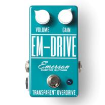 Emerson Custom EM-Drive Overdrive Pedal