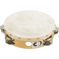 "Percussion Plus T10HD 10"" Headed Double Row Tambourine"