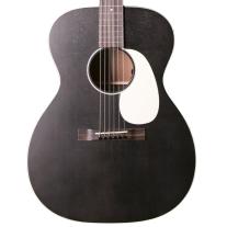 Martin 00017E 17-Series Black Smoke Auditorium Acoustic Electric Guitar
