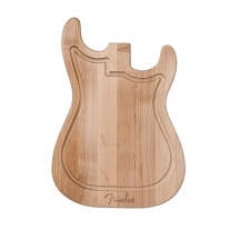Fender Stratocaster Guitar Cutting Board