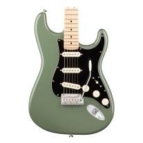 Fender American Professional Stratocaster, Maple Fingerboard - Antique Olive