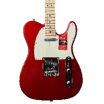 Fender American Professional Telecaster Electric Guitar in Candy Apple Red