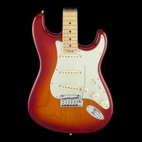 Fender American Elite Stratocaster- Aged Cherry Burst (Ash), Maple