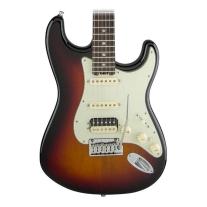 Fender American Elite Stratocaster HSS Shawbucker - 3-Color Sunburst, Rosewood