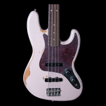 Fender Flea Signature Road Worn Electric Bass in Shell Pink w/ Gig Bag