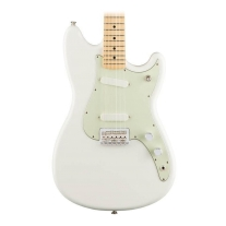 Fender Duo Sonic Maple Fingerboard Aged White
