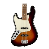 Fender Player Jazz Electric Bass - Pau Ferro LH Fingerboard - 3 Color Sunburst