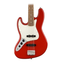 Fender Player Jazz Electric Bass Guitar - Pau Ferro LH Fingerboard - Sonic Red