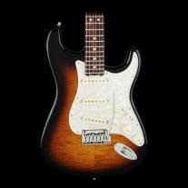 Fender Limited Edition American Elite Strat® Maple Fingerboard 2-Color Sunburst