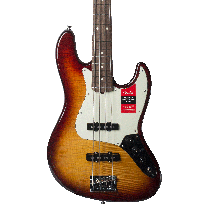 Fender American Professional Jazz Bass Aged Cherry Sunburst w/ Case