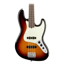 Fender American Professional Fretless Jazz Bass - 3-Color Sunburst