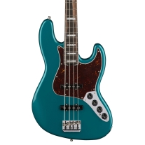 Fender American Elite Jazz Bass In Ocean Blue Turquoise