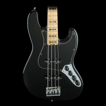 Fender American Elite Jazz Bass Maple Fingerboard - Black