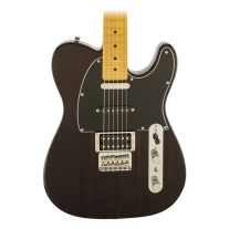 Fender Modern Player Telecaster Plus Electric Guitar (Charcoal Transparent)