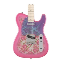 Fender Classic '69 Pink Paisley Telecaster Electric Guitar